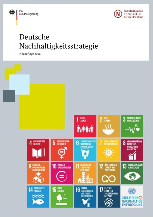 Nachhaltigkeitsstrategie bundesregierung