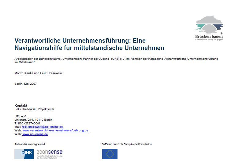 Verantwortliche Unternehmensführung im Mittelstand: Über 200 Instrumente verfügbar!