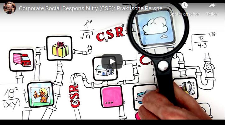 Erklärvideo zu CSR und Umsetzung in der Unternehmenspraxis