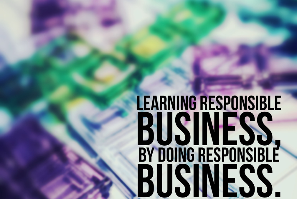 """Learning responsible business, by doing responsible business"" – jetzt zum Schnupperspielen anmelden"