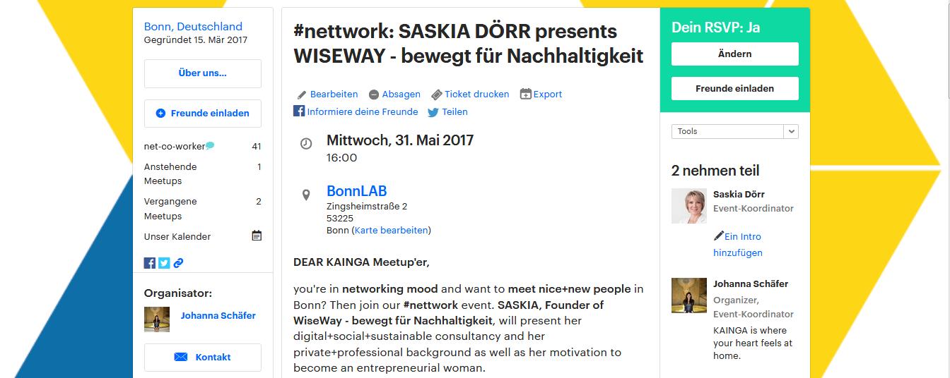 Neues Netzwerken oder wie ich ganz real in der Digitalen Welt angekommen bin