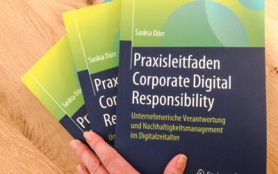 """Voilà, der """"Praxisleitfaden Corporate Digital Responsibility""""!"""