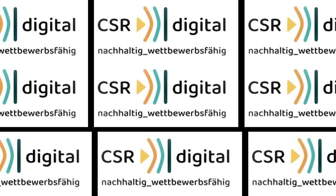 Auftakt CSR.digital: Digitalisierung und Nachhaltigkeit als Erfolgskriterien – Online Frühstück am 2. Juli