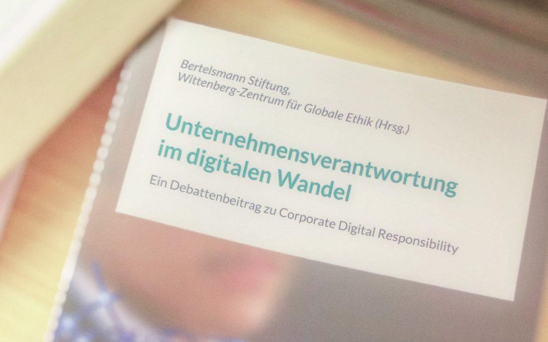 """48 Perspektiven auf """"Corporate Digital Responsibility"""" – eine davon meine…"""